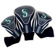 Team Golf Seattle Mariners 3 pc Contour Head Cover Set