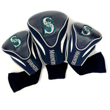 Team Golf Seattle Mariners 3-pc. Contour Head Cover Set