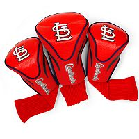 Team Golf St. Louis Cardinals 3 pc Contour Head Cover Set