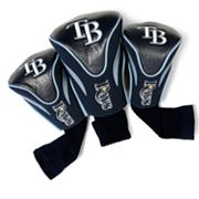 Team Golf Tampa Bay Rays 3-pc. Contour Head Cover Set
