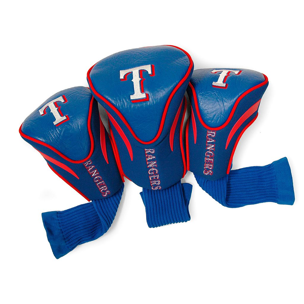 Team Golf Texas Rangers 3-pc. Contour Head Cover Set