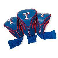 Team Golf Texas Rangers 3 pc Contour Head Cover Set