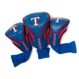 Team Golf Texas Rangers 3-pc. Contour Head Cover Set