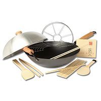 Joyce Chen Excalibur 10-pc. Wok Set