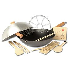 Joyce Chen Excalibur 10 pc Wok Set
