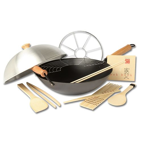how to clean a joyce chen wok