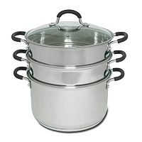 Joyce Chen 3 tier Chinese Stainless Steel Steamer