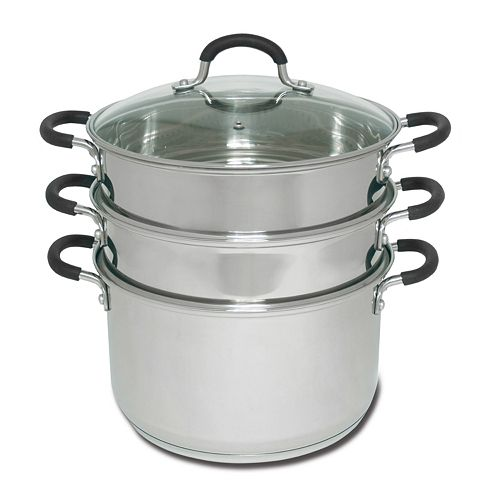 Joyce Chen 3-Tier Chinese Stainless Steel Steamer