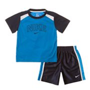 Nike Colorblock Tee and Shorts Set - Baby