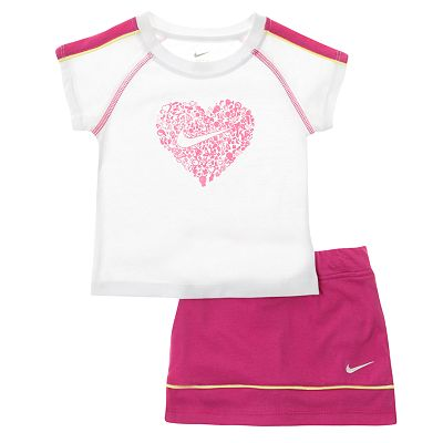 Nike Heart Tee and Scooter Set - Baby
