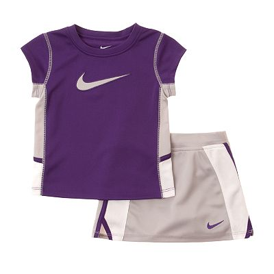 Nike Swoosh Tee and Scooter Set - Baby