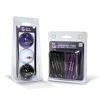 Team Golf Baltimore Ravens Ball & Tee Set