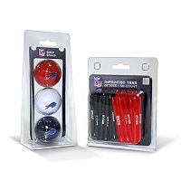 Team Golf Buffalo Bills Ball & Tee Set