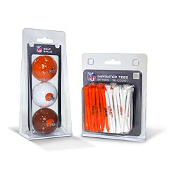 Team Golf Cleveland Browns Ball & Tee Set