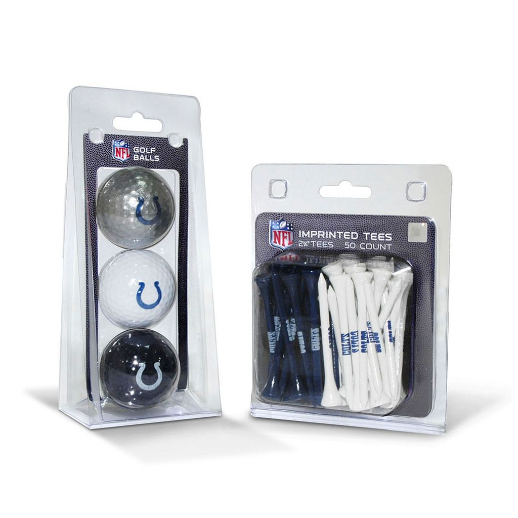 Team Golf Indianapolis Colts Ball & Tee Set
