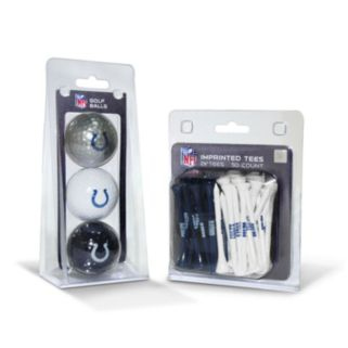 Team Golf Indianapolis Colts Ball and Tee Set