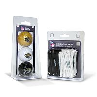 Team Golf Jacksonville Jaguars Ball & Tee Set