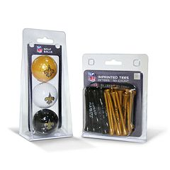 Team Golf New Orleans Saints Ball & Tee Set