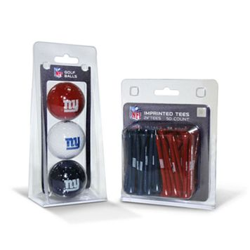 Team Golf New York Giants Ball & Tee Set