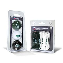 Team Golf New York Jets Ball & Tee Set