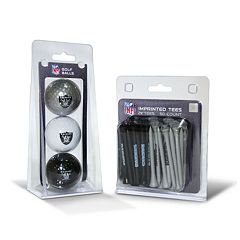 Team Golf Oakland Raiders Ball & Tee Set