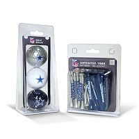 Team Golf Dallas Cowboys Ball & Tee Set