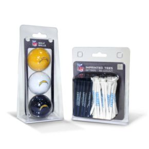 Team Golf San Diego Chargers Ball and Tee Set