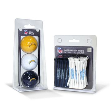 Team Golf San Diego Chargers Ball & Tee Set