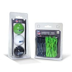 Team Golf Seattle Seahawks Ball & Tee Set