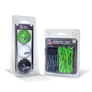 Team Golf Seattle Seahawks Ball and Tee Set