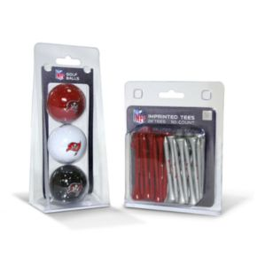 Team Golf Tampa Bay Buccaneers Ball and Tee Set