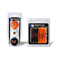 Team Golf Baltimore Orioles Ball & Tee Set