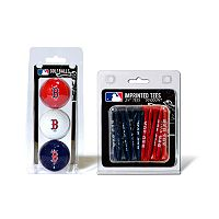Team Golf Boston Red Sox Ball & Tee Set