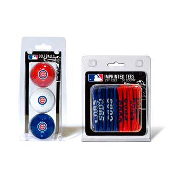 Team Golf Chicago Cubs Ball & Tee Set