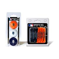Team Golf Detroit Tigers Ball & Tee Set