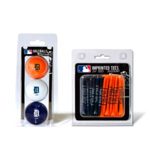 Team Golf Detroit Tigers Ball and Tee Set