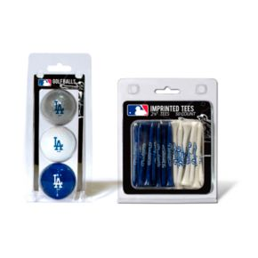 Team Golf Los Angeles Dodgers Ball and Tee Set