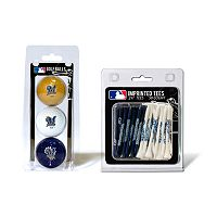 Team Golf Milwaukee Brewers Ball & Tee Set