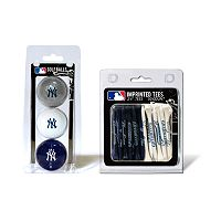 Team Golf New York Yankees Ball & Tee Set
