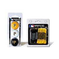 Team Golf Pittsburgh Pirates Ball & Tee Set