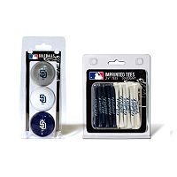 Team Golf San Diego Padres Ball & Tee Set