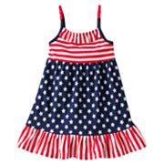 Jumping Beans Stars and Stripes Dress - Toddler