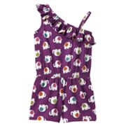 Jumping Beans Elephant Asymmetrical Romper - Toddler
