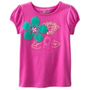 Jumping Beans Floral Tee - Toddler
