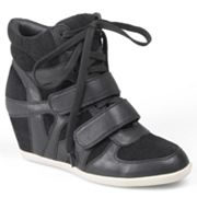 Journee Collection Alana Wedge Sneakers - Women