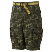 Urban Pipeline Camouflage Mini Ripstop Cargo Shorts - Men