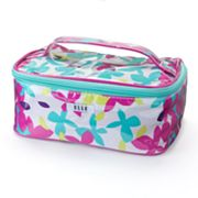 ELLE Flora Fetty Patent Cosmetic Case