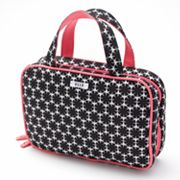 ELLE Flower Girl Weekender Cosmetic Bag