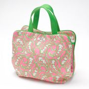 ELLE 2-pc. Pull Apart Paisley Power Cosmetic Bag Set
