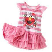 Sesame Street Too Cute Elmo Tutu Dress - Baby